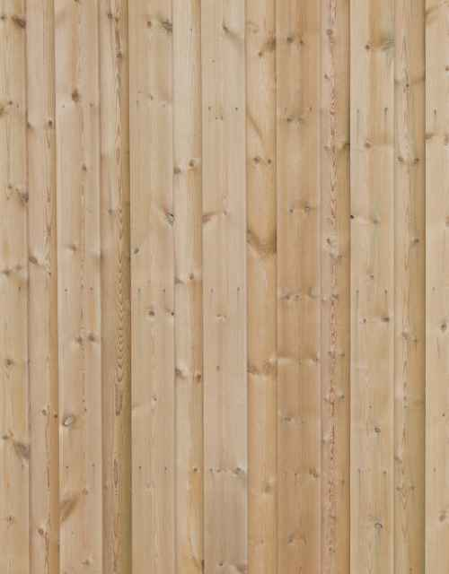 Co2 Larch Contemporary Fencing Slatted